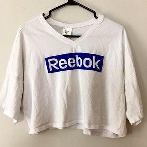 Reebok Women's Crop Top Size L (Can fit XL)